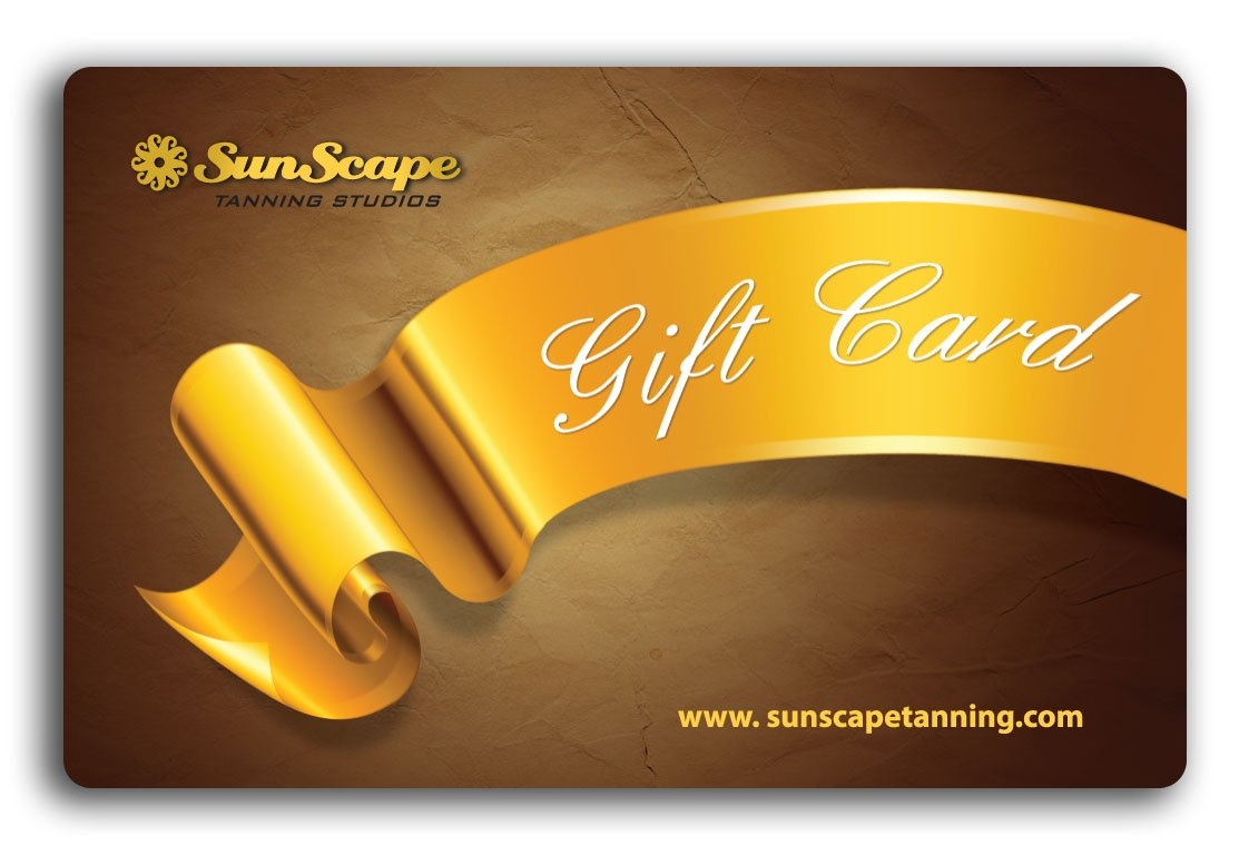 Gift Cards — SunScape Tanning Studios